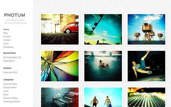 photo gallery template 19