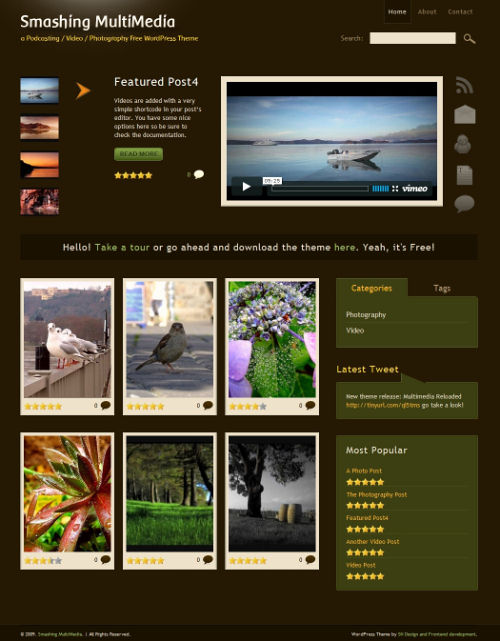 photo gallery template 23