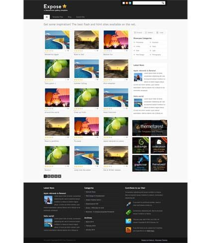 photo gallery template 39