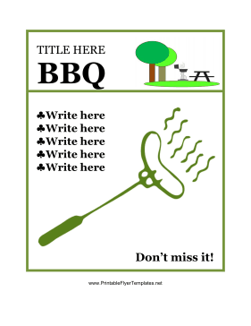BBQ Flyer Template-5