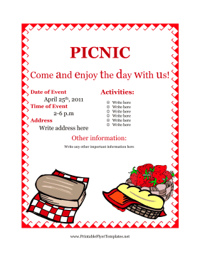 picnic flyer background koni polycode co
