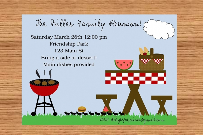 publisher save the date templates - 24 free picnic flyer templates for all types of picnics