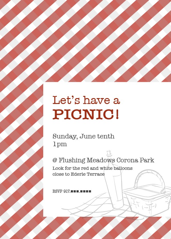 Picnic Flyer Template13