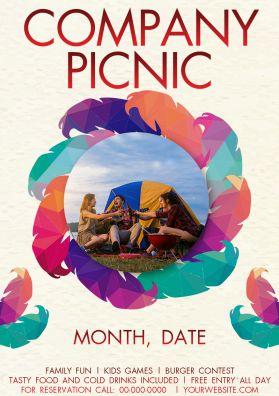 company picnic flyer