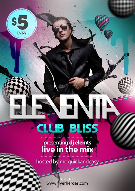 15 Free Club Flyer Templates Hard To Ignore Demplates – Club Flyer Maker