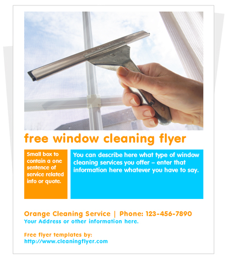 cleaning services advertising templates - 25 free business flyer templates to suit your business