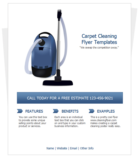 Cleaning Business Flyer Ideas Romeondinez