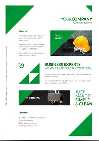 25 Free Business Flyer Templates To Suit Your Business Needs Demplates