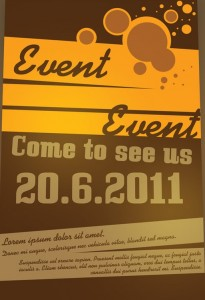 Free Event Flyer Template13