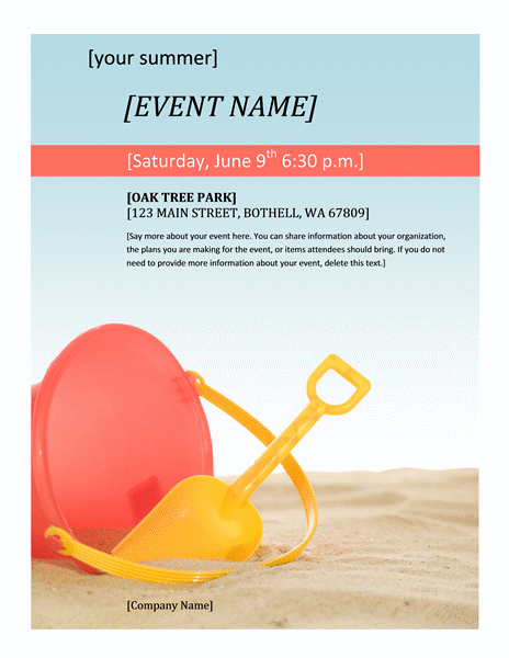 Free Event Flyer Template2