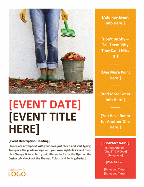 Free Event Flyer Template5