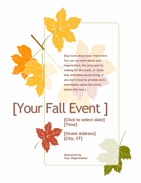 20 Free Event Flyer Templates For Range Of Events - Demplates