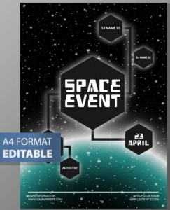 Free Event Flyer Template9