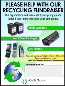 Free fundraiser flyer template10