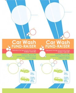 Free fundraiser flyer template3
