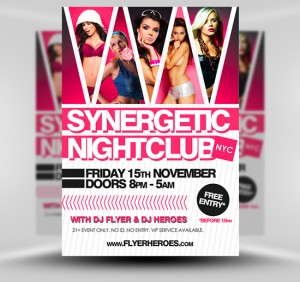 NightClub Flyer6