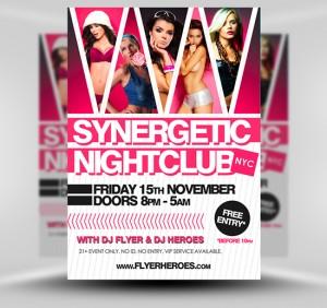 NightClub Flyer6