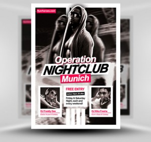 NightClub Flyer7