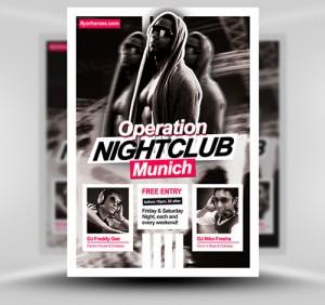 NightClub Flyer7