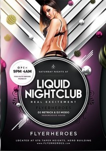 NightClub Flyer9