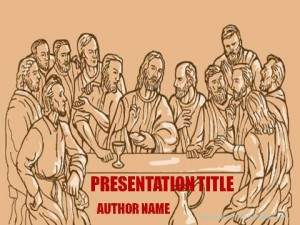 Christian Art PowerPoint Templates1