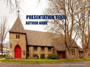Churches Around The World PowerPoint Template1