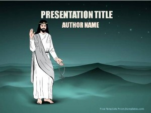 Jesus Of Nazareth PowerPoint Template1