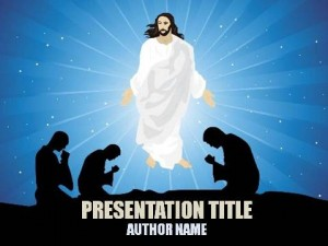 Jesus Words Of Wisdom PowerPoint Template1