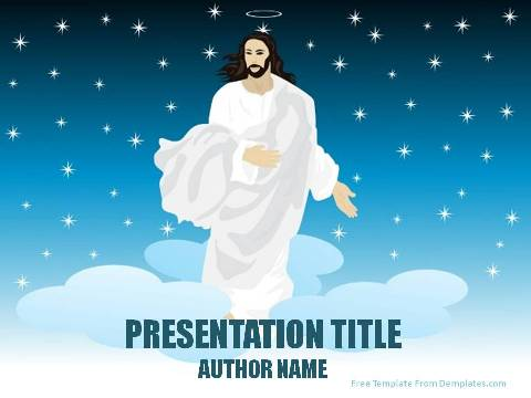 Miracles Of Jesus Powerpoint Template Demplates