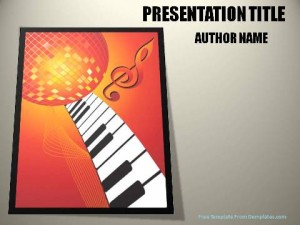 Music And Dance PowerPoint Template1