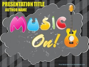Music Concerts PowerPoint Template1