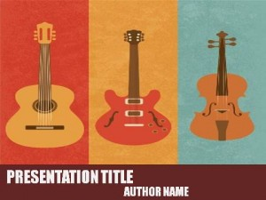 Musical Instruments PowerPoint Template1