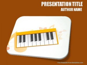 Old Musical World PowerPoint Template1