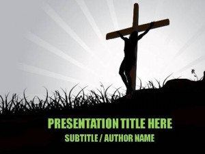 Salvation Through Christ PowerPoint Template1