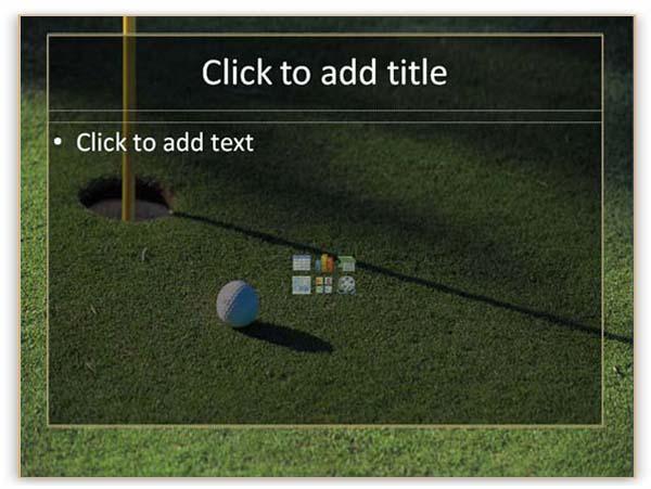 golf flyers templates