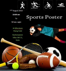 Sports Flyer Template19