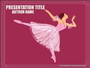Ballet Powerpoint Templates