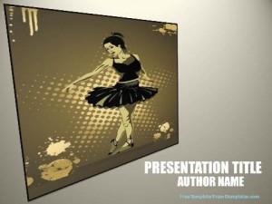 powerpoint presentation ballet