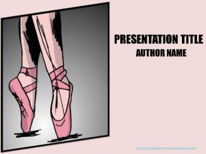 Ballet PowerPoint Templates 2
