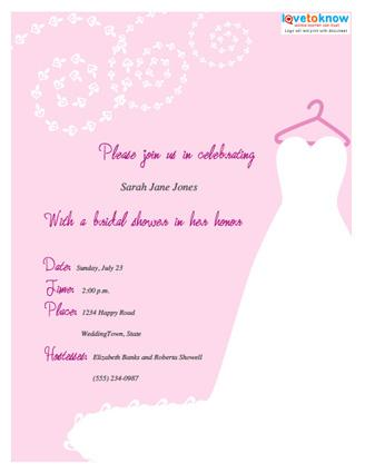 12 mesmerizing free bridal shower flyer templates demplates What do you give at a bridal shower