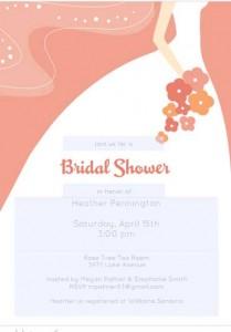 free bridal shower flyer 4