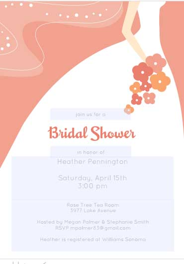 free bridal shower flyer 4