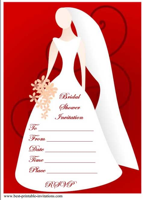 free bridal shower flyer 6