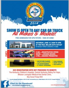 free car show flyer10