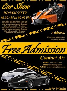 free car show flyer6