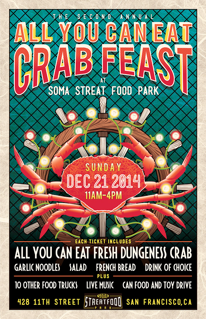 10 free crab feast flyer templates To Tantalize Your Taste ...