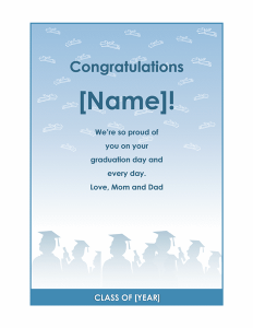 free graduation flyer1