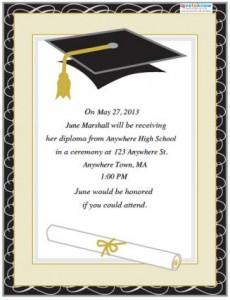 free graduation flyer6