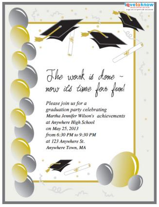 15 Graduation Flyers For Inviting & Congratulating Your ...