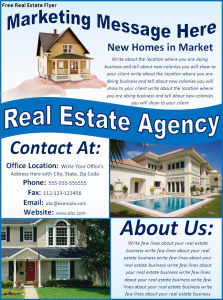 free real estate flyer 8